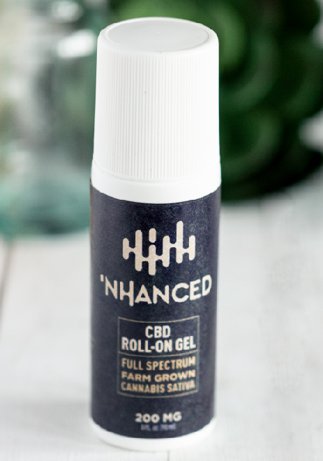 'NHANCED CBD ROLL ON GEL