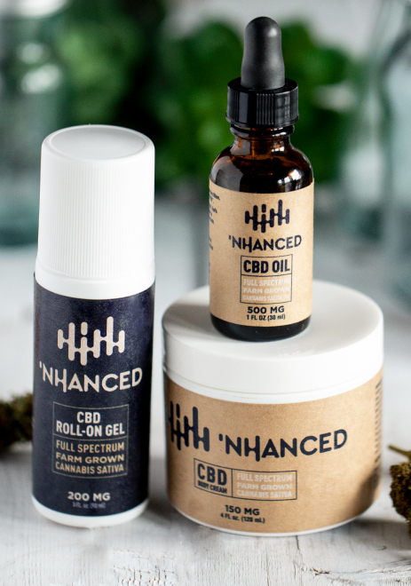 'NHANCED CBD Topicals Pack